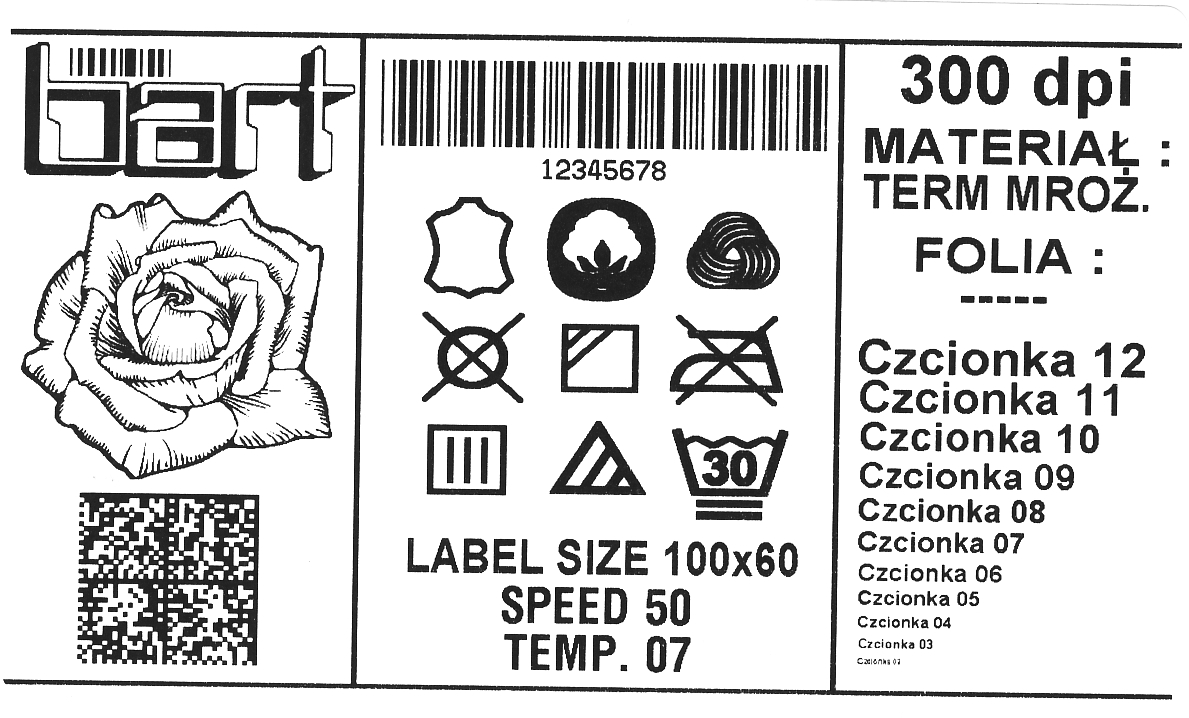 Label printers - PPUH BART